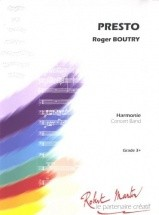 Boutry R. - Presto A La Maniere De...