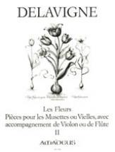 Delavigne Ph. - Les Fleurs Vol. Ii - 2 Flutes A Bec
