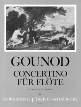 Gounod Charles - Concertino - Flute And Orchestra
