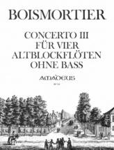 Boismortier - Concerto Iii