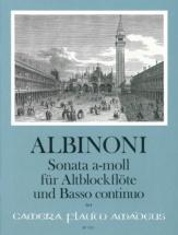 Albinoni T. - Sonata A Minor - Flute A Bec and B.c.