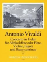 Vivaldi - Concerto In F-dur Rv 100 - Conducteur & Parties