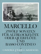 Marcello B. - 12 Sonatas Op.2/1 - Sonates 1-3