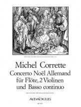 Corrette Michel - Concerto Noel Allemand - Conducteur & Parties