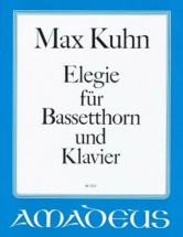 Kuhn Max - Elegie - Basset Horn and Piano