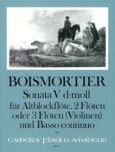 Boismortier - Sonate V Op.34 In D Minor