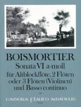 Boismortier - Sonate Vi Op.34 In A Minor