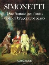 Simonetti Giovanni Paolo - Two Sonatas Op.10