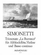 Simonetti Giovanni Paolo - Triosonate  La Burrasca Op.5/2