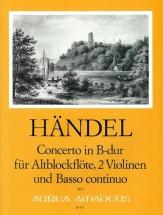 Handel G.f. - Concerto B-dur