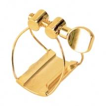 Brancher Ligature Saxophone Alto Gold Bec Metal