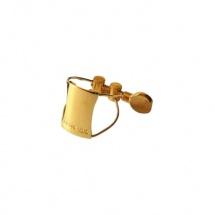 Brancher Ligature Saxophone Sop Gold Bec Ebonite