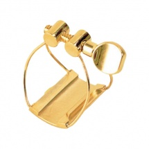 Brancher Ligature Saxophone Tenor Gold Bec Metal