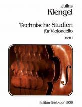 Klengel J. - Technische Studien, Band 1 - Violoncelle