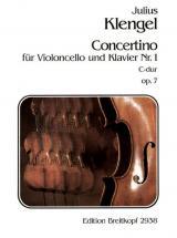 Klengel J. - Concertino Nr. 1 C-dur Op. 7 - Violoncelle, Piano