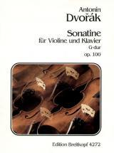 Dvorak A. - Sonatine Sol Majeur Op. 100 - Violon, Piano