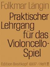 Langin F. - Lehrgang Violoncellospiel 4 - Violoncelle