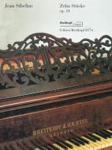 Sibelius J. - 10 Pieces Op. 24 Piano - Piano