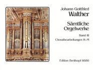 Walther J.g. - Integrale Pour Orgue Vol.3