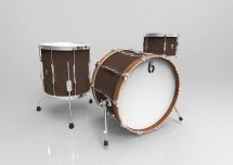 British Drum Co Lounge Club Stage Rock 12t 16ft 22b Kensington Crown