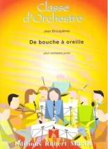 Brouquieres J. - De Bouche  Oreille... Clarinette Solo