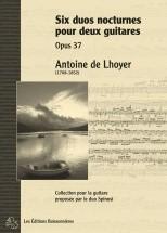 De Lhoyer - Six Duos Nocturnes Op.37 - Guitare