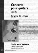 De Lhoyer - Concerto Pour Guitare Op.16 - Guitare (conducteur)