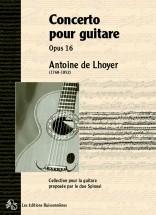 De Lhoyer - Concerto Pour Guitare Op.16 - Guitare