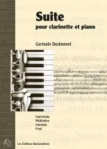 Desbonnet - Suite Pour Clarinette Et Piano - Clarinette