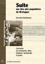 Desbonnet - Suite Sur Des Airs Populaires De Bretagne - Vent Et Piano
