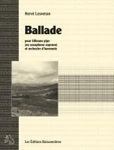 Lesvenan - Ballade Pour Uillean Pipe Et Orchestre Harmonie - Uillean Pipe