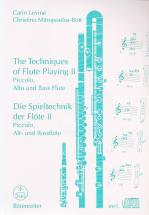 Levine / Mitropoulos-bott - The Techniques Of Flute Playing Vol.2 - Flute