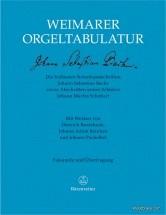Bach J.s. - Weimarer Orgeltablatur