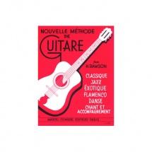 Sheet Music : Methode de Guitare Classique Jazz Flamenco et Acc (Classical guitar)