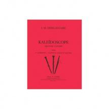 Depelsenaire Jean-marie - Kaleidoscope - 2 Clarinettes, Hautbois Et Basson