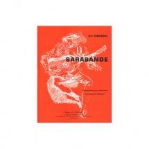 Haendel Georg Friedrich - Sarabande - Guitare