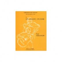 Meranger Paul - Tableaux De Voyage N.3 Un Chant Un Soir - Flute Et Guitare