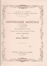 Meriot Michel - Anthologie Musicale Vol.1