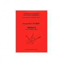 Joubert Claude-henry - Andante - Orchestre A Cordes