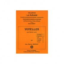 Mourat Jean-maurice - Voyelles A Et E (anemone - Eglantine) - Guitare