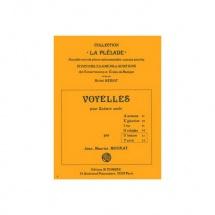 Mourat Jean-maurice - Voyelles U Et Y (ulmaire - Yuca) - Guitare