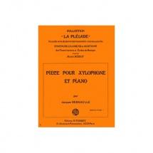 Deshaulle Jacques - Piece - Xylophone Et Piano