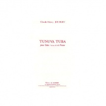 Joubert Claude-henry - Tunuva Tuba - Tuba En Ut Ou Sib Et Piano