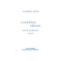 Brun Patrick - Petites Pieces (5) Op.8 - Guitare