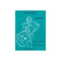 Albinoni Tomaso - Adagio - Flute Et Guitare Ou 2 Guitares