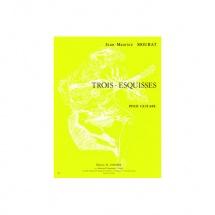 Mourat Jean-maurice - Esquisses (3) - Guitare