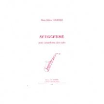 Fournier Marie-helene - Setiocetime - Saxophone Alto