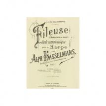 Hasselmans Alphonse - La Fileuse Op.27 - Harpe