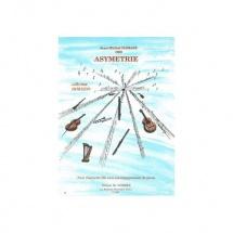 Damase J. M. - Asymetrie  - Clarinette Et Piano