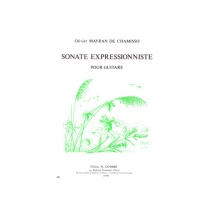 Mayran De Chamisso Olivier - Sonate Expressionniste - Guitare